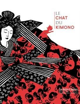 chat du kimono